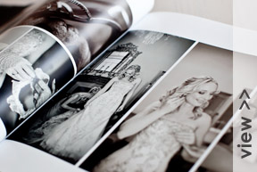 Coffee table book layouts